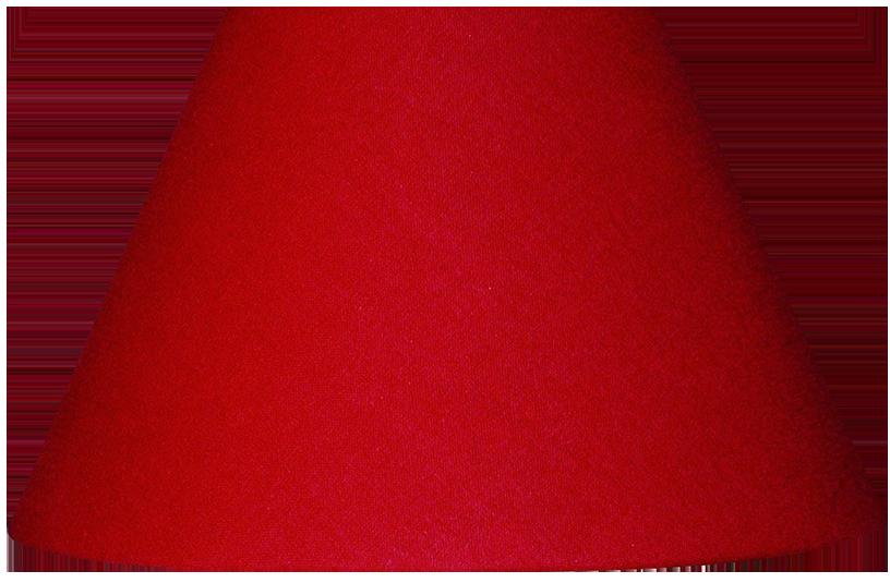 Abat-jour inspire rouge