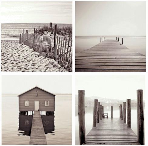 Toile seaside