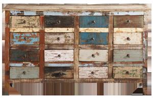 Comptoir en bois calanque