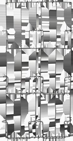 Porte-revues jim noir métal