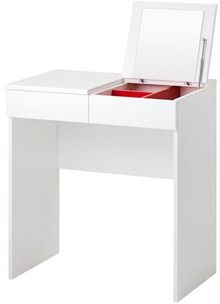 brimnes coiffeuse mydecolab. Black Bedroom Furniture Sets. Home Design Ideas