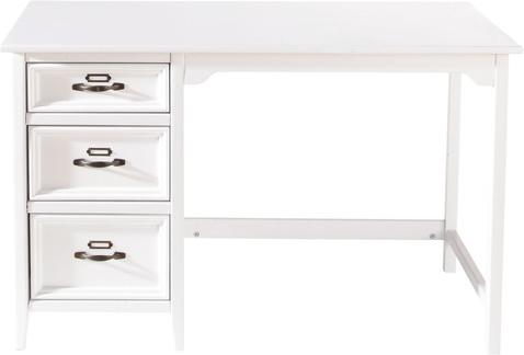 Bureau aurélien blanc en bois mydecolab