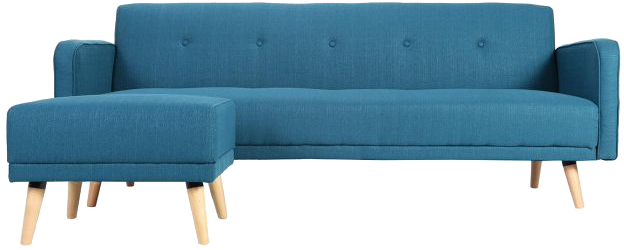 canap d 39 angle convertible r versible scandinave bleu ulla mydecolab. Black Bedroom Furniture Sets. Home Design Ideas