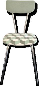 Chaise de cuisine vintage | MYDECOLAB
