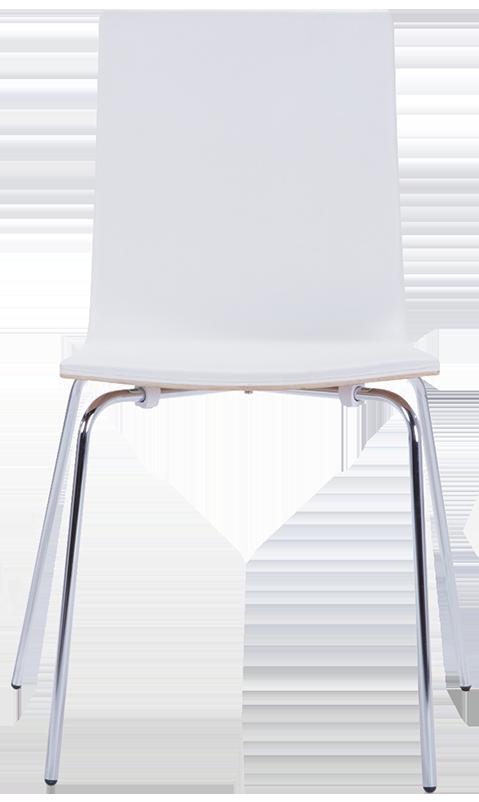Frêne et blanc 2 x dolly chaises