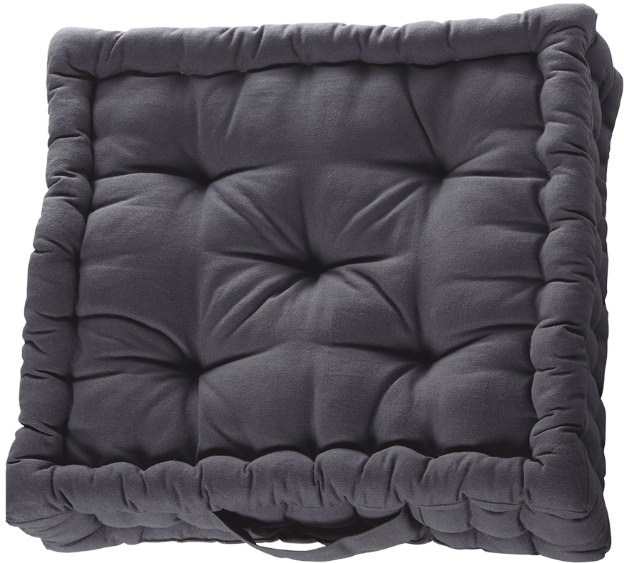 coussin de sol inspire gris galet mydecolab. Black Bedroom Furniture Sets. Home Design Ideas
