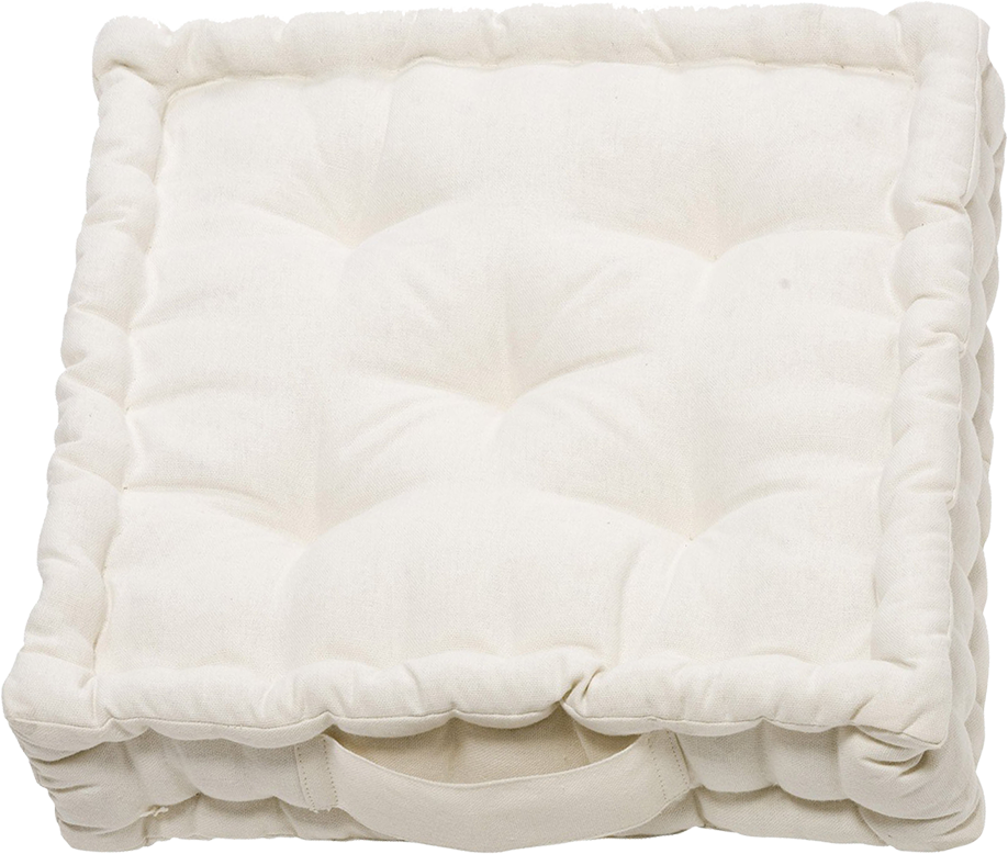 Coussin inspire blanc ivoire