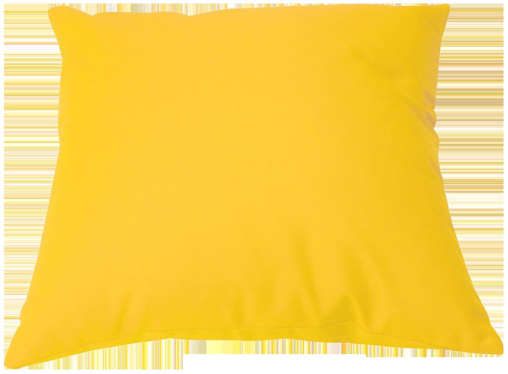 Coussin inspire jaune anis