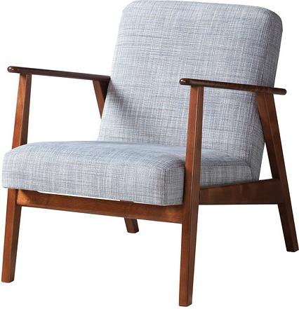 Ekenäset - fauteuil gris clair
