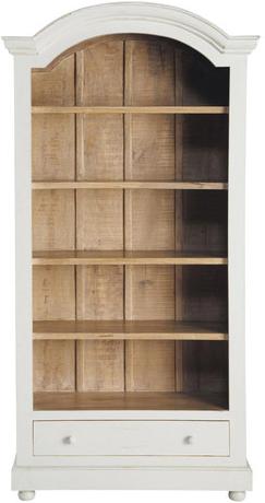 Bibliothèque amélie blanc