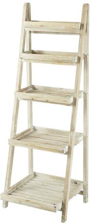 étagère florentine blanc en bois