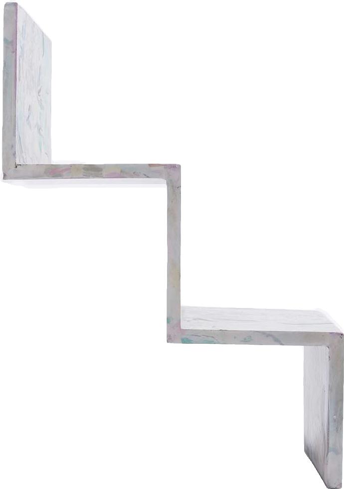 étagère escalier en marbre