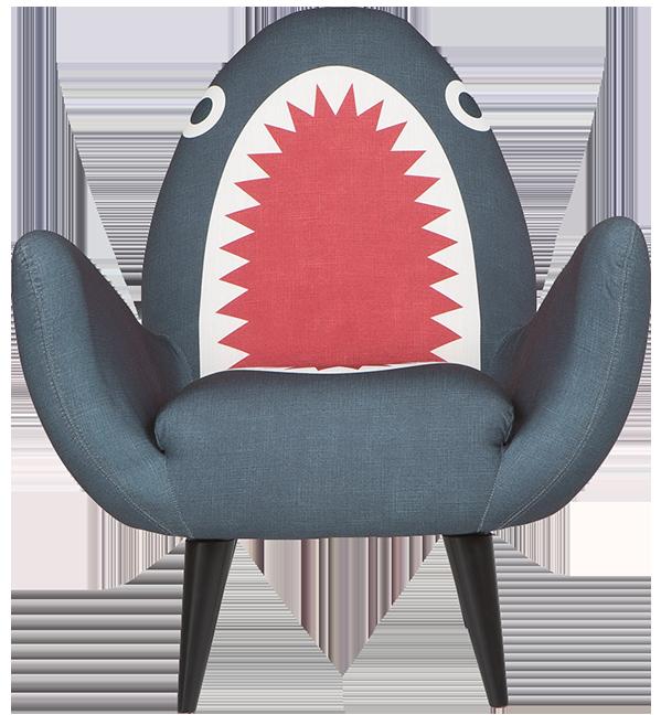 Fauteuil rodnik requin