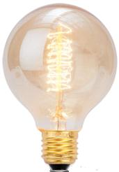 Ampoule avec filament en carbone e27/35w