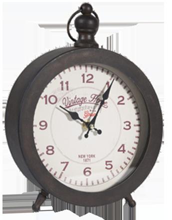 Horloge bagel métal