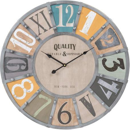 Horloge edwin métal