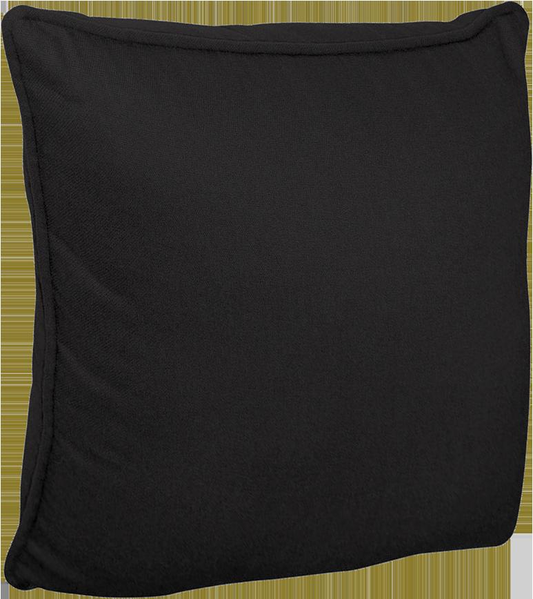 Housse de coussin inspire noir noir