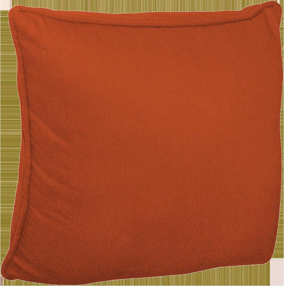 Housse de coussin inspire orange orange