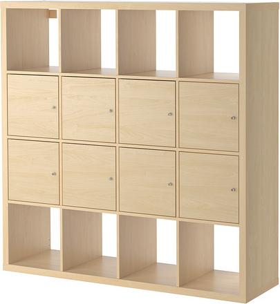 Kallax - étagère avec 8 accessoires