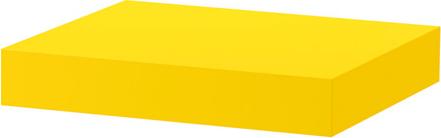 Lack - étagère murale jaune