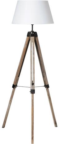 Lampadaire jersey en bois
