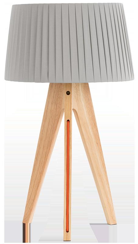 Lampe de table miller bois