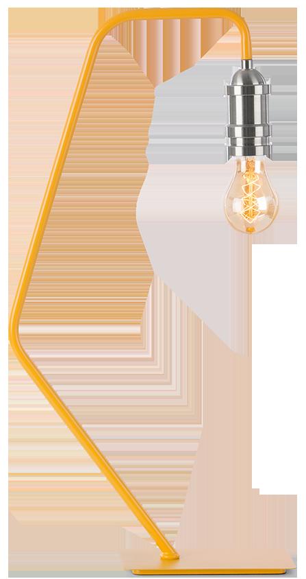Lampe De Table Starkey Moutarde Mydecolab