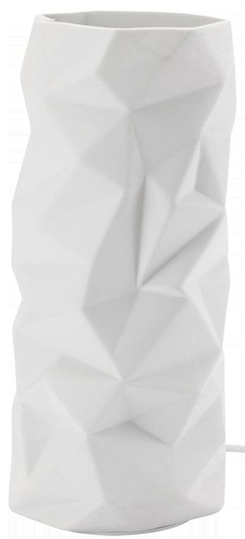 Lampe mathias céramique blanc