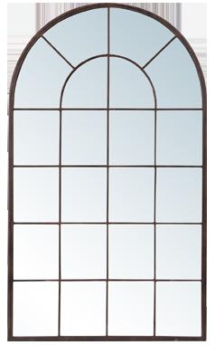 Miroir rusty métal