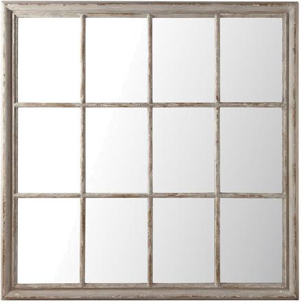 Miroir camargue gris en bois mydecolab for Miroir bois gris