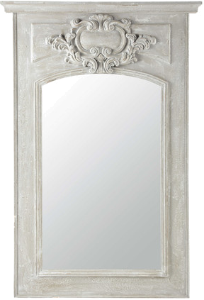 excellent miroir garance gris en bois with maison du monde miroir cargo. Black Bedroom Furniture Sets. Home Design Ideas