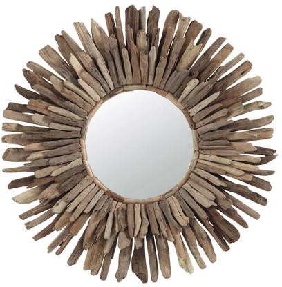 Miroir karukera en bois