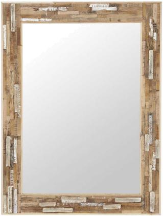 Miroir auray blanc en bois