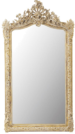 Miroir conservatoire doré