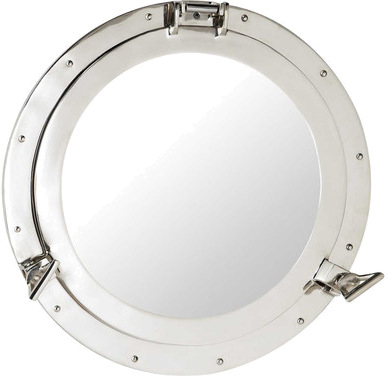 Miroir navy métal