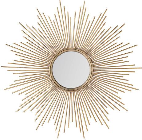 Miroir magellan doré