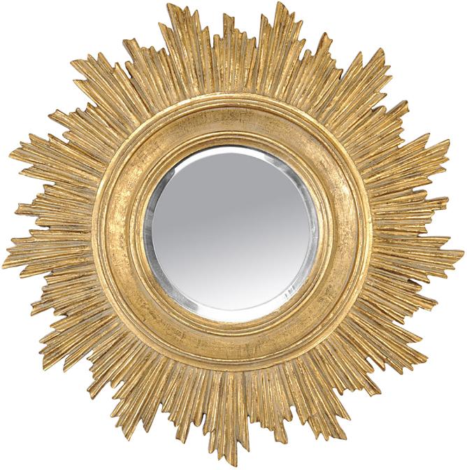 miroir soleil dor sun mydecolab. Black Bedroom Furniture Sets. Home Design Ideas