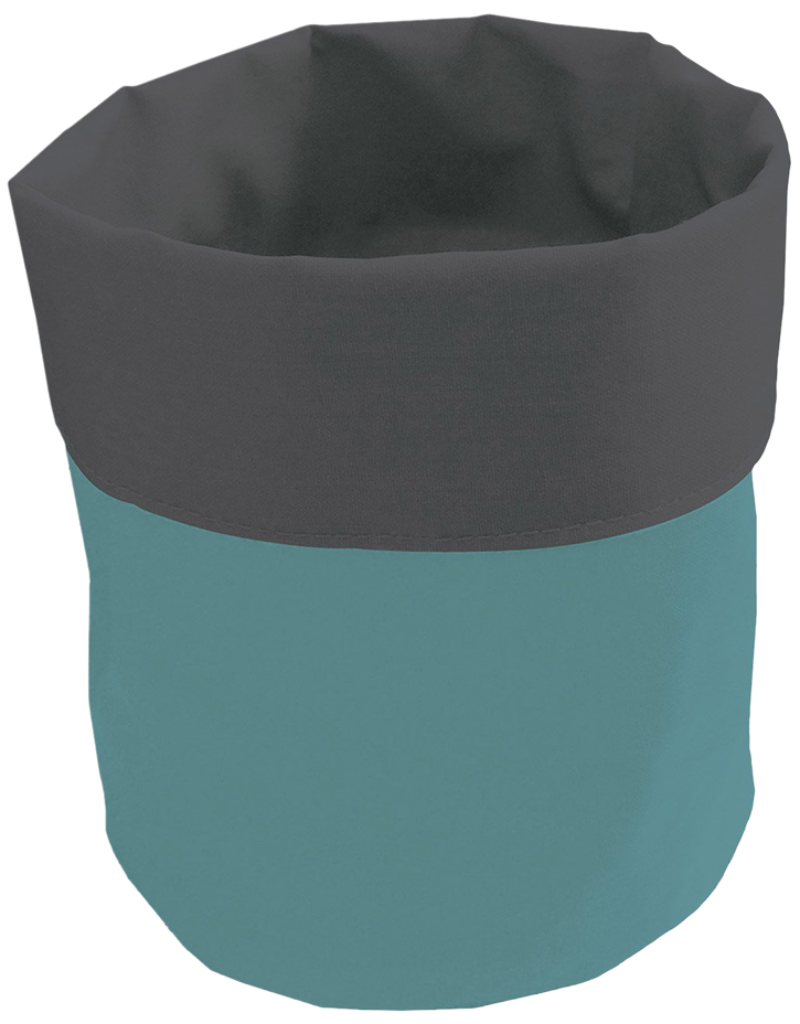 Panier bubble gum bleu atoll
