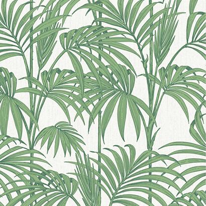 Papier Peint Motif Feuille Verte Honolulu Mydecolab