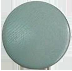 Patère dots 13 cm - medium bleu pétrole