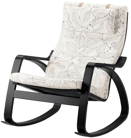 Poäng - fauteuil à bascule motifs