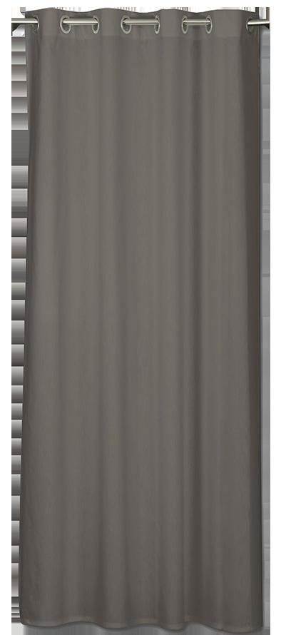 Rideau neo gris foncé