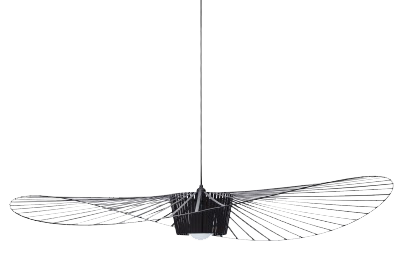 Suspension vertigo large - noir