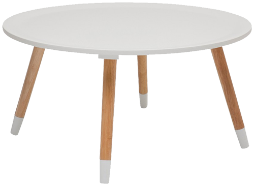 Table basse blossom blanche