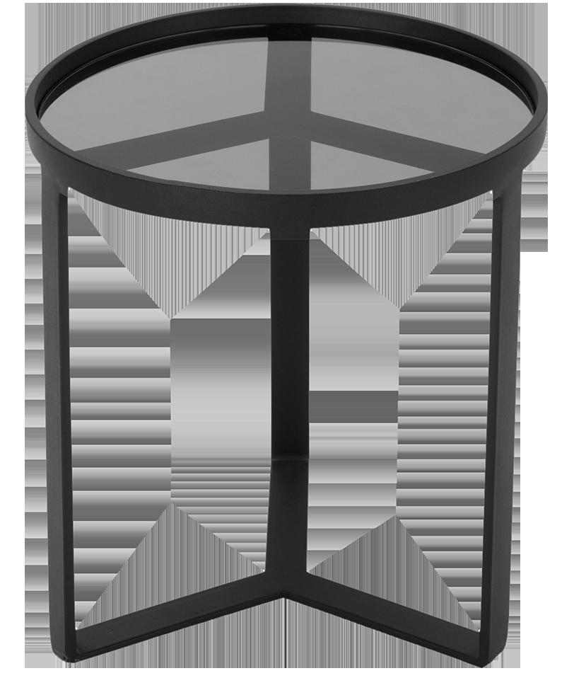 Table d'appoint aula noir
