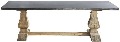 Table lourmarin métal