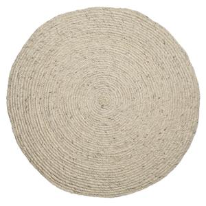 https www mydecolab com fr catalogue murs sols 68 sols 73 tapis 74 tapis rond en laine tressee beige bloomingville 1300